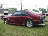1988 Ford Mustang 5.0 Automatic - Red - Image 2