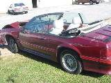 1988 Ford Mustang 5.0 HO Automatic - Red - Image 2