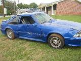 1988 Ford Mustang 5.0 HO Automatic - Blue - Image 3