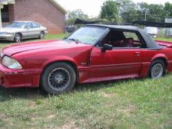 1987-1993 - Parts Cars - 1988 Ford Mustang 5.0 HO 5-Speed - Red