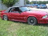1988 Ford Mustang 5.0 HO 5-Speed - Red - Image 2