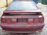 1988 Ford Mustang 5.0 HO Automatic AOD - Burgundy - Image 5