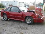1988 Ford Mustang 5.0 HO Automatic AOD - Red - Image 2