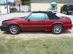 Parts Cars - 1988 Ford Mustang 5.0 AOD Automatic - Red