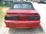 1988 Ford Mustang 5.0 AOD Automatic - Red - Image 5