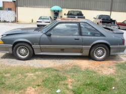 Parts Cars - 1988 Ford Mustang 5.0 T-5 - Gray & Silver