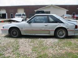 1988 Ford Mustang 5.0 HO T-5 Five Speed - Gray - Image 1