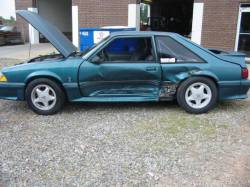 1987-1993 - Parts Cars - 1988 Ford Mustang 5.0 HO 5 Speed - Green