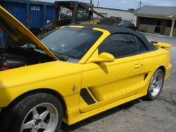 1994-1998 - Parts Cars - 1994 Ford Mustang 5.0 Tremec TKO 500 - Yellow