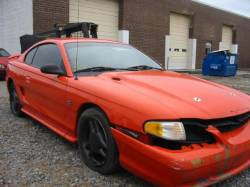 1994-1998 - Parts Cars - 1994 Ford Mustang 5.0 T-5 Five Speed - Orange