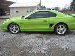 1994-1998 - Parts Cars - 1994 Ford Mustang 5.0 COBRA T-5 Five Speed - Green