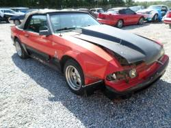 1983 Ford Mustang Convertible 5 AOD - Red - Image 1