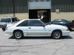 1989 Ford Mustang 5.0 T5 - White - Image 1