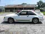1989 Ford Mustang 5.0 T5 - White - Image 2