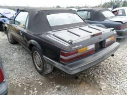 Parts Cars - 1985 Mustang Convertible