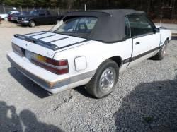 Parts Cars - 1984-1986 Mustang Convertible