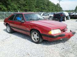 Parts Cars - 1990 Mustang LX Hatchback