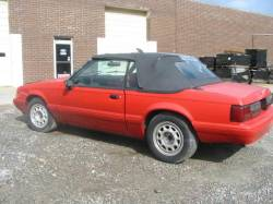 Parts Cars - 1988 Ford Mustang  Convertible 2.3
