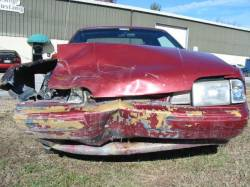 1987-1993 - Parts Cars - 1989 Ford Mustang 5.0 5 spd. - Red