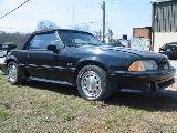 1989 Ford Mustang 5.0 Automatic - Black w/ black top - Image 2