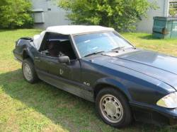 1987-1993 - Parts Cars - 1989 Ford Mustang - Black