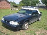 1989 Ford Mustang - Black - Image 2