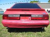 1989 Ford Mustang 5.0 HO Automatic - Red - Image 3