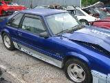 1989 Ford Mustang 5.0 HO Automatic - Blue - Image 2