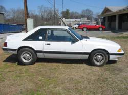 1987-1993 - Parts Cars - 1989 Ford Mustang 4 cyl 5 speed - White