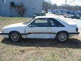 1989 Ford Mustang 4 cyl 5 speed - White - Image 2