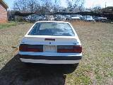1989 Ford Mustang 4 cyl 5 speed - White - Image 3