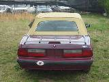 1989 Ford Mustang 4-cyl AOD E - Burgundy - Image 3