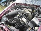 1989 Ford Mustang 4-cyl AOD E - Burgundy - Image 5