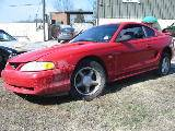 1995 Ford Mustang 5.0 Automatic - red - Image 2
