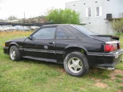 1989 Ford Mustang 5.0 5 Speed - Black - Image 1