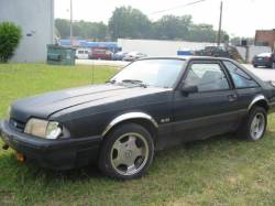 1989 Ford Mustang 5.0 5-Speed - Black - Image 1