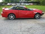 1999 Ford Mustang Convertible 4.6 SOHC 4R7W Manual Transmission- Red - Image 2