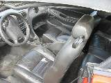 1999 Ford Mustang Convertible 4.6 SOHC 4R7W Manual Transmission- Red - Image 3