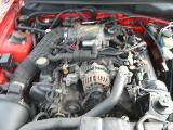 1999 Ford Mustang Convertible 4.6 SOHC 4R7W Manual Transmission- Red - Image 4