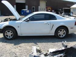1999-2004 - Parts Cars - 1999 Ford Mustang Coupe 4.6 4R7W Manual Transmission- White