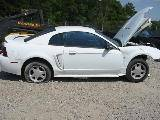 1999 Ford Mustang Coupe 4.6 4R7W Manual Transmission- White - Image 2