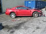 2000 Ford Mustang V6 Automatic- Red - Image 2