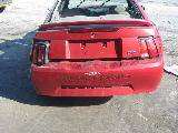 2000 Ford Mustang V6 Automatic- Red - Image 3