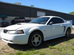 2000 Ford Mustang 4.6 5 Speed- White