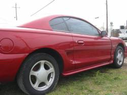 1995 Ford Mustang 5.0 HO Automatic - Red