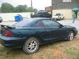 1995 Ford Mustang 5.0 HO Automatic - Green - Image 2