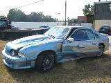 1989 Ford Mustang 5.0 HO Automatic - Silver/Blue Flame - Image 2