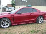 1995 Ford Mustang 5.0 HO T-5 - Red - Image 2