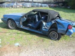 1987-1993 - Parts Cars - 1989 Ford Mustang 2.3 4-Cyl - Blue