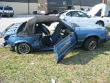 1989 Ford Mustang 2.3 4-Cyl - Blue - Image 2